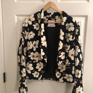 Floral blazer from Ann Taylor Loft!